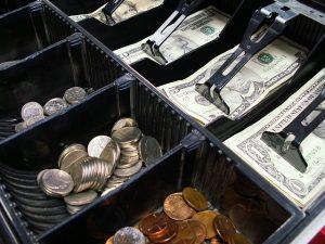 zonder betalen winkelen