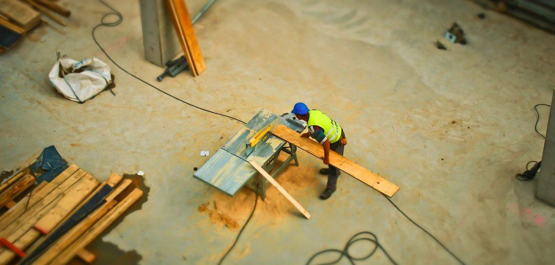 gemiddelde uurloon in de bouw