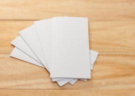 De inzet van flyers als promotiemateriaal