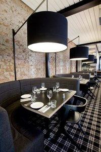 Verlichting sfeer restaurant