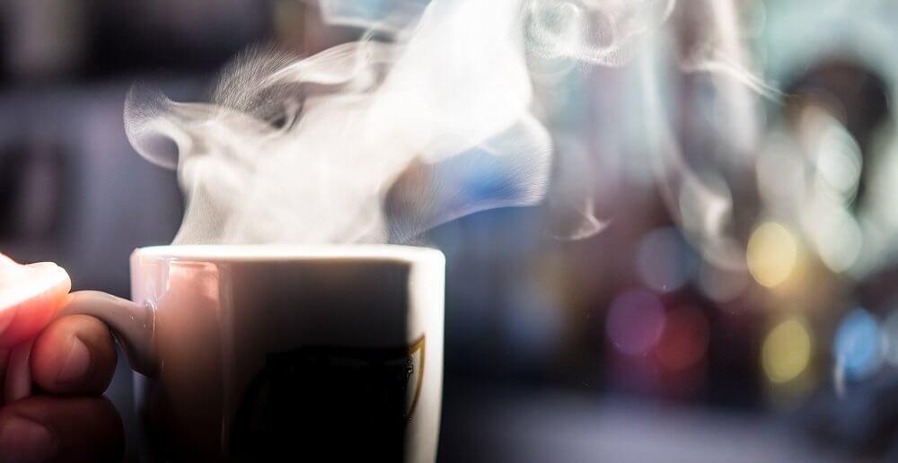 Koffie op het werk