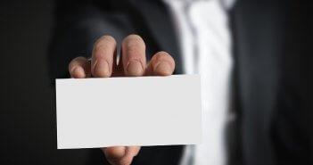 het perfecte visitekaartje