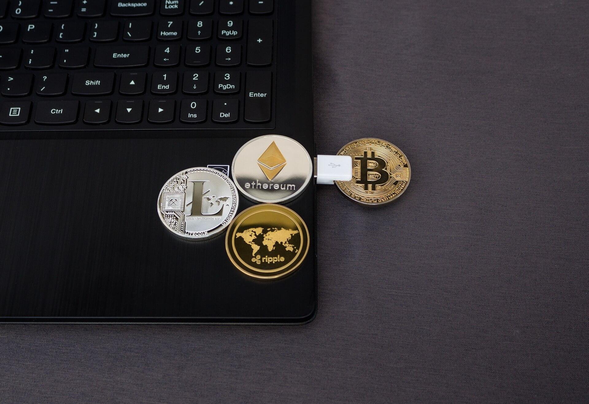 Crypto als Ripple, Ethereum, Litecoin en Bitcoin kun je online kopen.