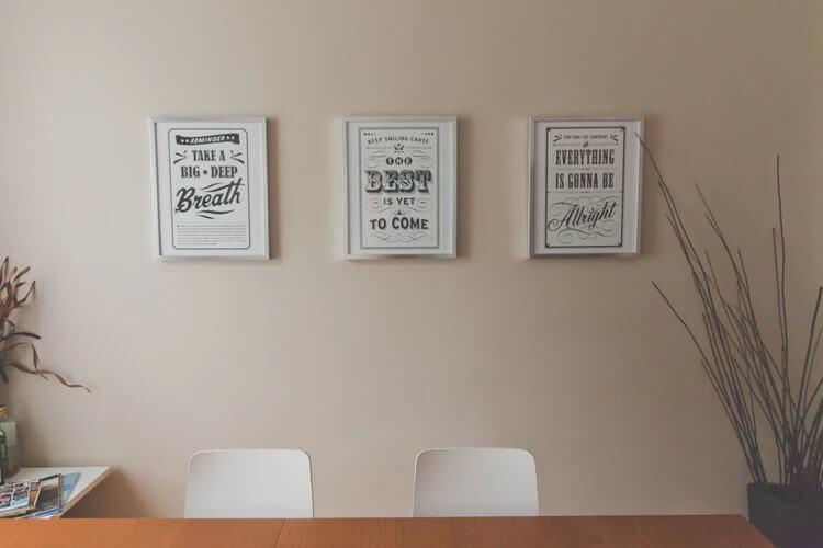 kantoor sfeervoller maken