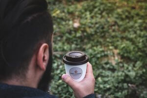 Koffiebeker als marketing