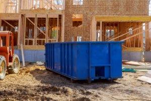 Kantoor verhuizen afvalcontainer