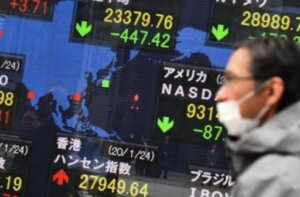 China-Asia Coronavirus Wall street crash drags Asian markets